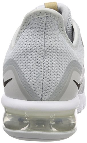 da 008 Black Multicolore Max White Ginnastica Sequent Scarpe Uomo Basse NIKE Pure Platinum Air 3 XfpBq