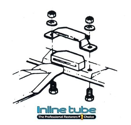 Amazon Com Inline Tube I 9 7 1964 72 A Body Transmission Cross