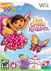 Take-two Interactive Software 710425346705 WII DORA SAVES CRYSTAL KINGDOM