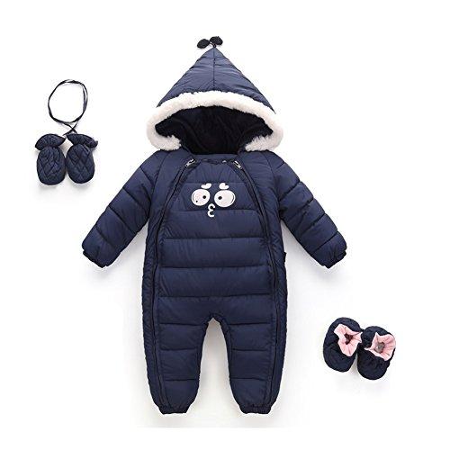 Amazon.com: Meijunter Baby Infant Newborn Hoodie Down Jacket Romper ...