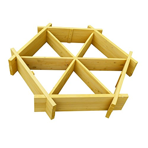 Leisure Season Hexagonal Raised Garden Bed by Leisure Season