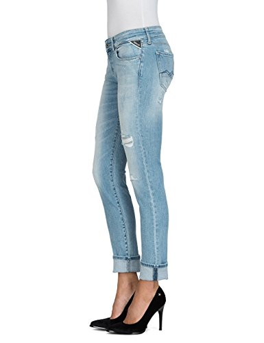 Replay Rose 11 Slim Light Bleu Jean Blue Femme aqqwrgC