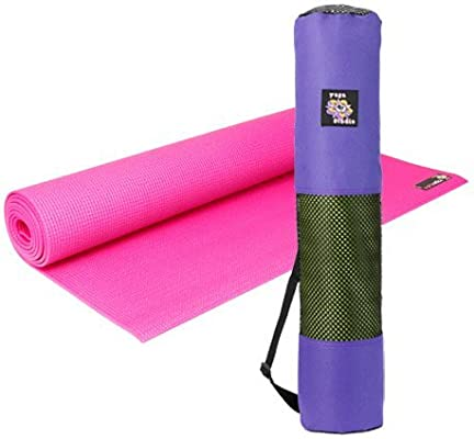 Yoga Kit: Antideslizante Estera de Yoga 4 mm de Espesor y ...