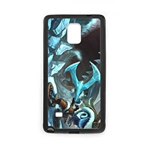 League of Legends(LOL) Fizz Samsung Galaxy Note 4 Cell Phone Case Black VBS_3690592