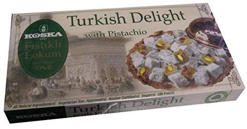 (Turkish Delight with Pistachio (Koska) 500g)