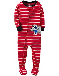 Carter's Baby Boy's Snug-Fit One-Piece Footed Pajamas