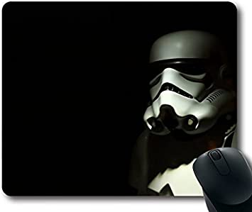 Custom Pc Game Mouse Pad With Stormtrooper Star Wars Wallpaper For Walls Hd Wozsww Backgrounds Non Slip Neoprene Rubber Standard Size 9 Inch 220mm X 7 Inch 180mm X 1 8 3mm Desktop Mousepad Laptop Mousepads Comfortable Computer Mouse Mat Amazon Ca