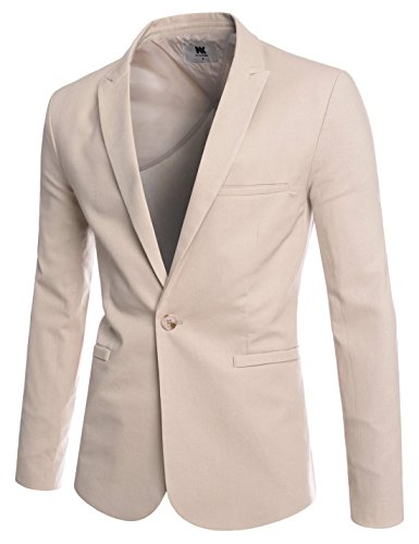 Peaked Lapel Button Business Blazer product image