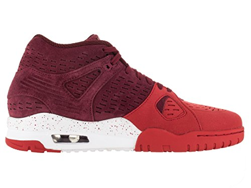 Nike Air Trainer 3 Le, Zapatillas de Running para Hombre Rojo / Blanco (Tm Red / Tm Rd-Unvrsty Rd-White)