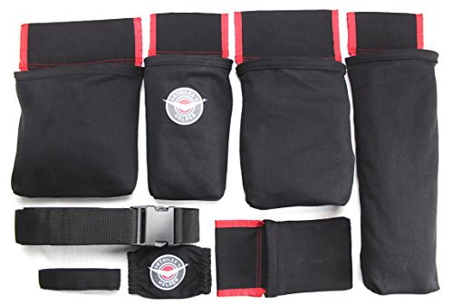 Detailer's Helper HD - Professional Detailing Tool Belt - Keep Your Detailing Supplies Organized in Perfectly Sized Bags, Including a Polisher Bag (Detailer's Helper HD)