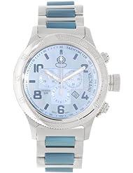 Invicta Russian Diver Chronograph Platinum Dial Two-tone Mens Watch 15478