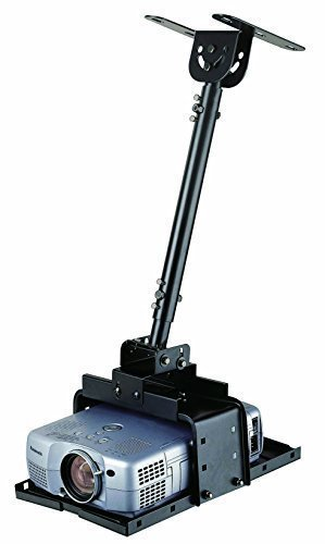 Elitech Universal Extendable Ceiling Projector Mount  20 to 27.6 inch Drop Height Adjustable, Extendable up to 71 inch With Optional Extension Pole (sell separately)