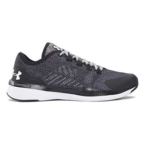 (Under Armour Women's UA Charged Push TR Hypersplice Black/Overcast Gray/White Athletic Shoe)