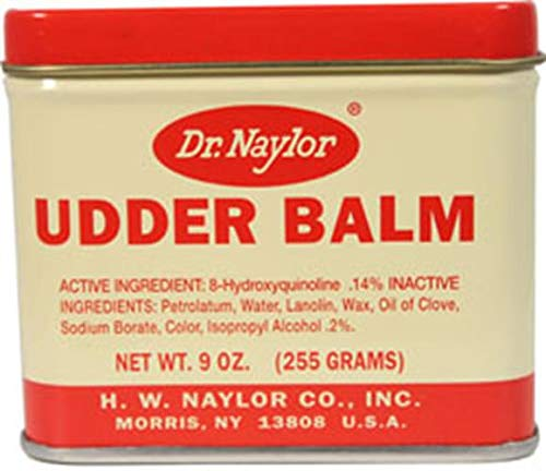 (Dr. Naylor Udder Balm (9 oz.) - Traditional Antiseptic Moisturizing Ointment)