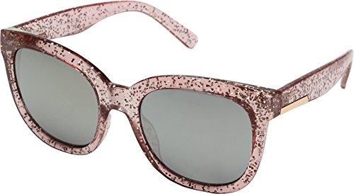 GUESS Women's GF0299 Crystal Blush Glitter/Brown Mirror Lens One -