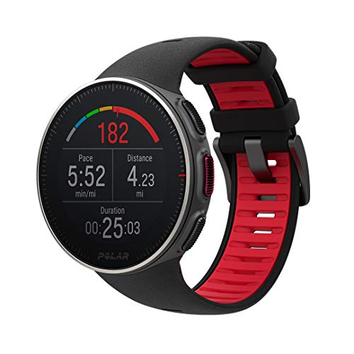 POLAR Vantage V Titan, Advanced GPS and HRM Multisport Watch for Multisport and Triathlon Training, (Heart Rate Monitor, Running Power, Waterproof)