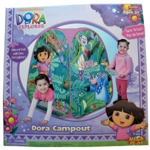 Nickelodeon Dora the Explorer Pop Up Tent by Dora the Explorer