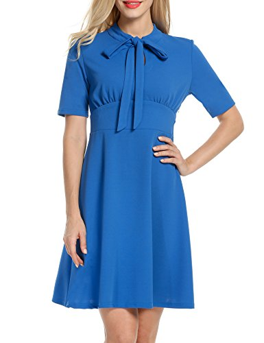 40s shirtwaist dress - 5