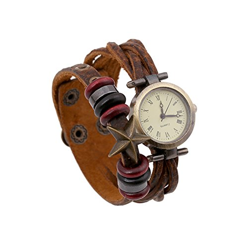 Star Womens Leather Watch - 7