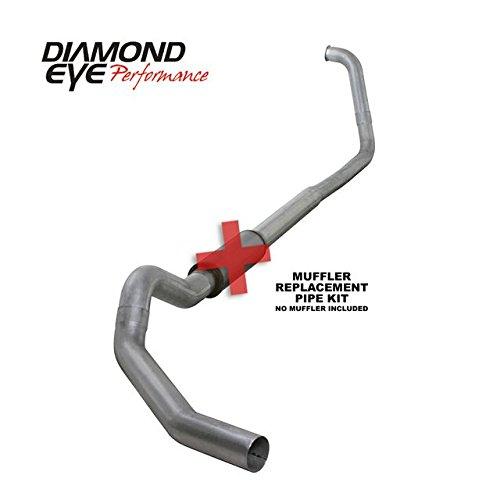 4' Turbo Back Kit (Diamond Eye K5350A-RP Turbo-Back Exhaust Kit)