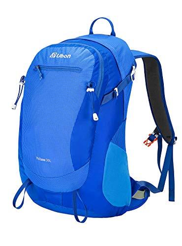 Ubon Internal Frame Hiking Backpack 30L Lightweight Daypack Breathable Adjustable for Outdoor Sports