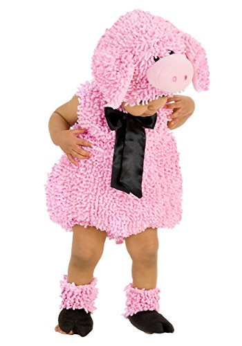 Princess Paradise Baby Girls' Premium Squiggly Piggy, Pink, 12-18 Months