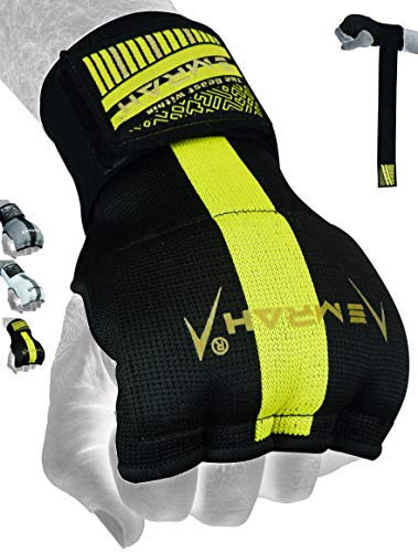 EMRAH E2.0 Boxing Hand Wraps | Pro Grip Inner Gloves | Knuckle Hand Wrist Support Protector | Martial Arts Training…