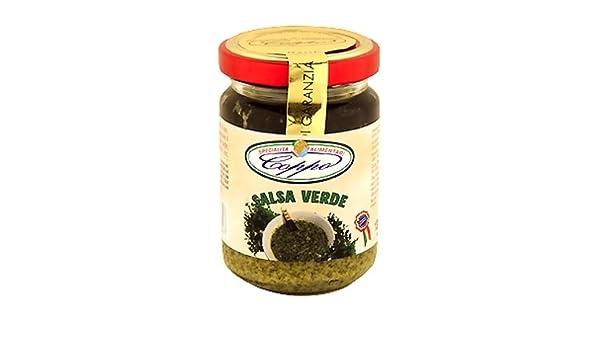 Coppo Specialità Alimentari -Salsa Verde - with parsley Ligure (130gr): Amazon.es: Alimentación y bebidas