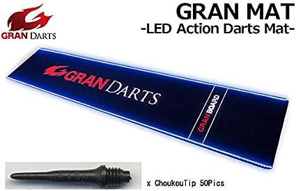 Amazon Com Gran Mat Led Action Darts Mat Wiht Choukoutip50pics