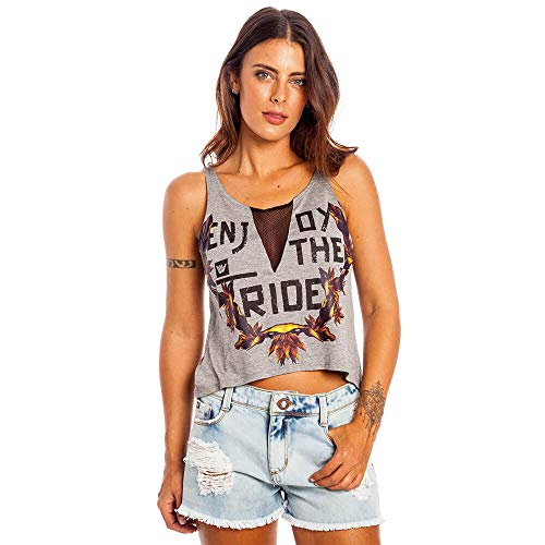 Regata Floral Ride Feminino Hang Loose Mescla - P