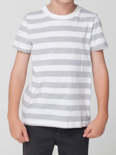 American Apparel Toddlers Fine Jersey Short-Sleeve T-Shirt (2105) -LEMON -4T by American Apparel (Image #5)