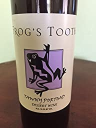 2010 Frog\'s Tooth Calaveras County Tawny Portoad 375ml