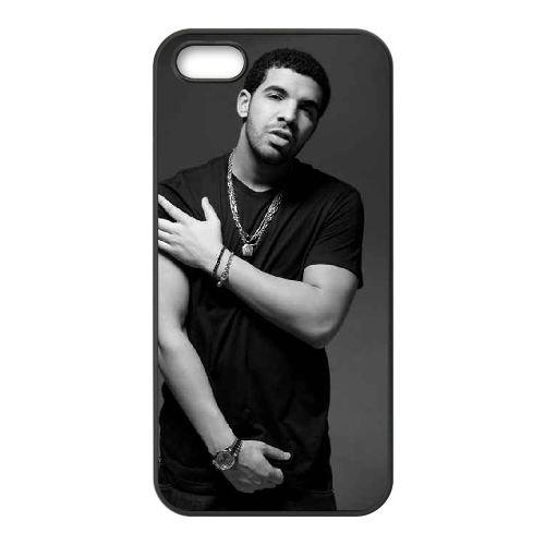 Drake 004 coque iPhone 4 4S Housse téléphone Noir de couverture de cas coque EOKXLLNCD18852