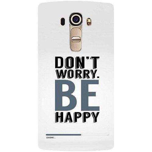 Casotec Donï ¿œ T Worry BE Happy Diseño Carcasa Trasera ...