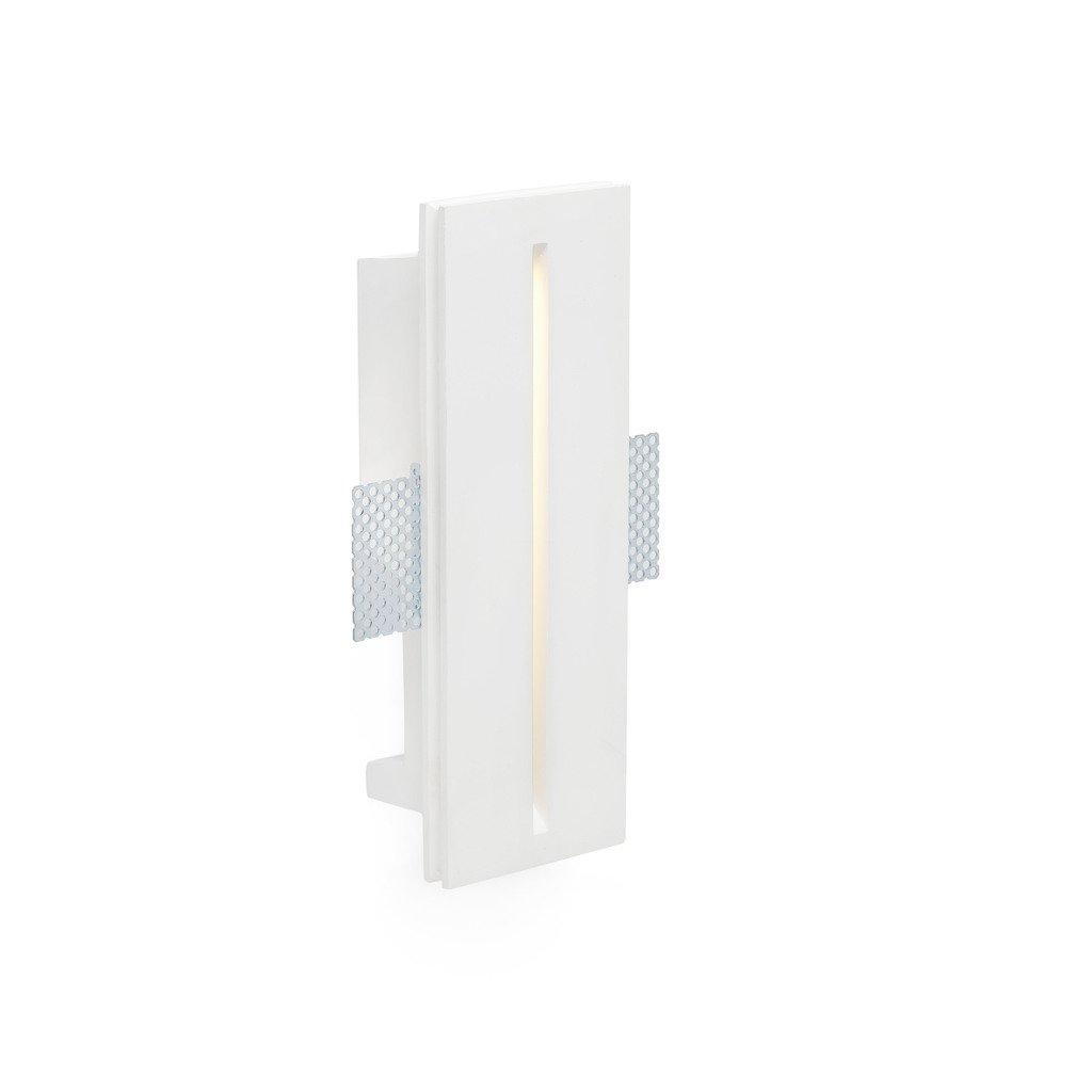 Leuchtturm 63282 – plas-2 LED Einbauleuchte, weiß