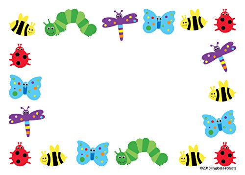 Hygloss Products Bugs Self Adhesive Kids Name Tags – 3.5 ...