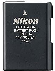 Nikon En-el14 Rechargeable Li-ion Battery For Nikon D3100 Dslr, D3200 Dslr, D5100 Dslr, P7000 And P7700 Digital Cameras