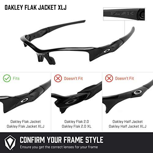 Oakley K022 De Flak Combo Pares 4 Jacket Lentes Revant Reemplazo Polarizados Para Xlj O8H7cxq
