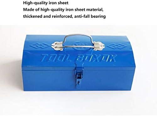 HLD ホーム電気技師用の単層ダブルハンドルツールボックス・ティンカーポータブルハードウェアツール ツールボックス