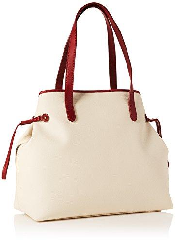 Timberland Bag peach Hombro Shopping De Bolsos Shoppers Mujer Puree Marfil Y Large 66OnrqHwf