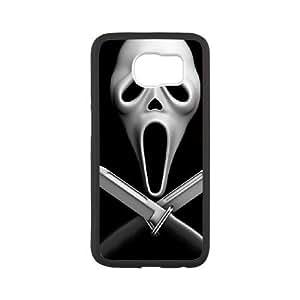 Scream Samsung Galaxy S6 Cell Phone Case White KCX