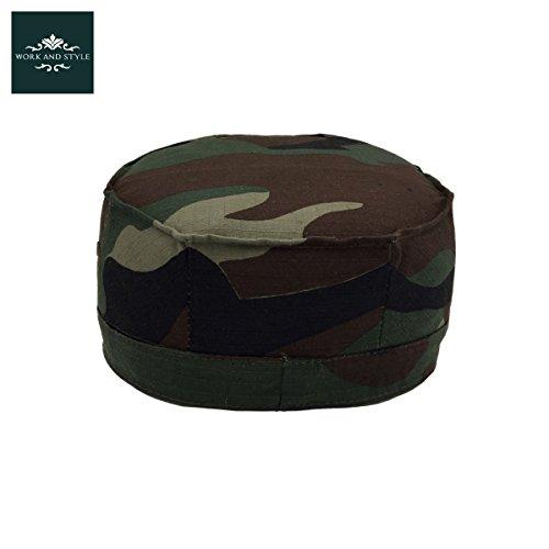 Estampado Gorra Verde Verde Style by L Militar Caqui Caqui Camuflaje Work and Montana Estampado OOaFwqA