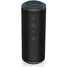 Bluetooth Speakers, Zamkol Portable Wireless Bluetooth Speaker, 360 Degree Sound and 24W Enhanced Bass, Wireless Dual Pairing Home Party Speaker, IPX6 Waterproof Dustproof for Beach, Shower, Travel