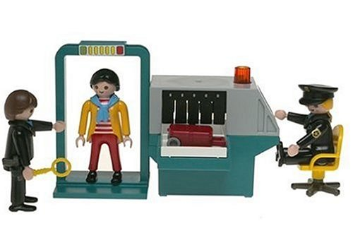 Amazon.com: Playmobil Security Check Point (Discontinued by manufacturer): Toys & Games