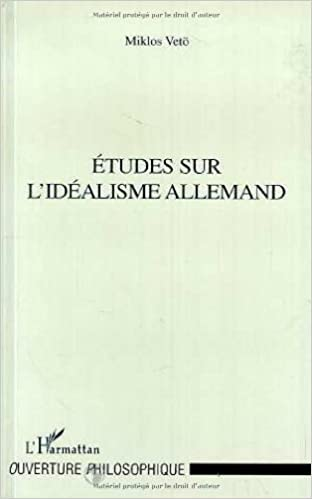 Livres gratuits Etudes sur l'idéalisme allemand pdf, epub