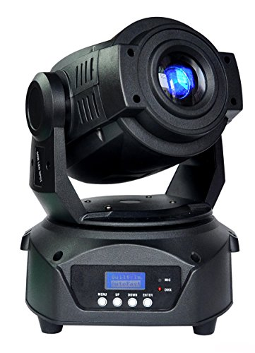 90W 2 gobos 3 prism LED Spot Moving Head Light Professional DJ Stage Party Disco Lights