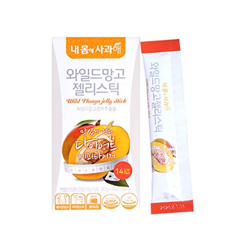 [Dr. MOON] African Mango Diet Jelly (20g x 14 Packets) - A Healthy Diet, Natural Weight Loss Diet Supplement, Fast Acting Appetite Suppressant, African Mango, Chicory Root Extract Powder