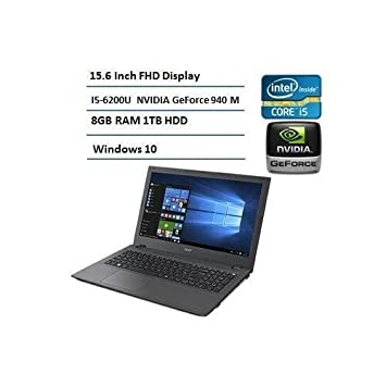 Acer 2016 Insignia Completo HD del Ordenador portátil DE 15,6