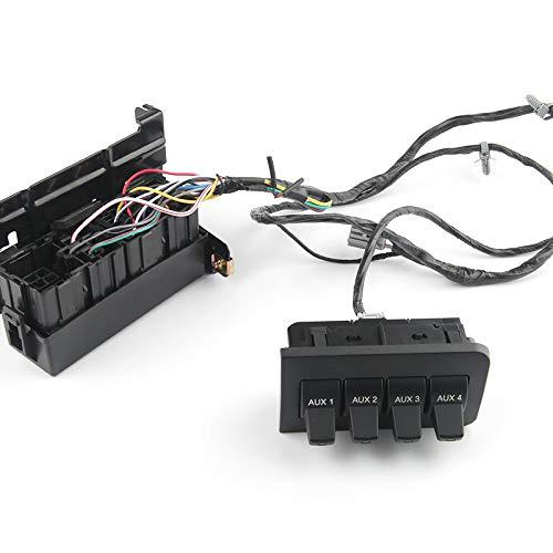 In-Dash Upfitter Auxiliary Cluster Voltage Regulator Switch Wire ...