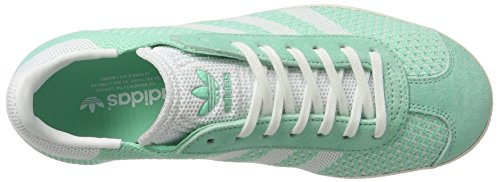 Adidas Sneakers Gazelle Femme White footwear Vert Primeknit Basses Green White easy chalk OAqOErZ